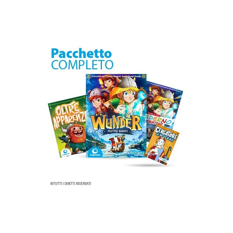 Pacchetto completo sussidio estivo grest estate ragazzi 2019 Wunder