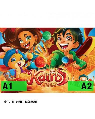 "Poster ""Kairos - persi nel tempo"" - v1"