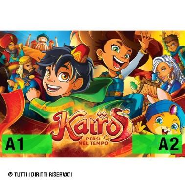 "Poster ""kairos - persi nel tempo"" - v2"