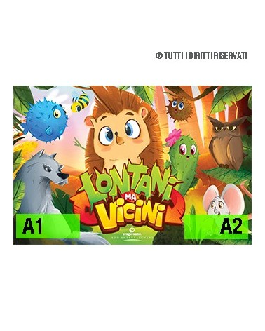 Poster Lontani Ma Vicini