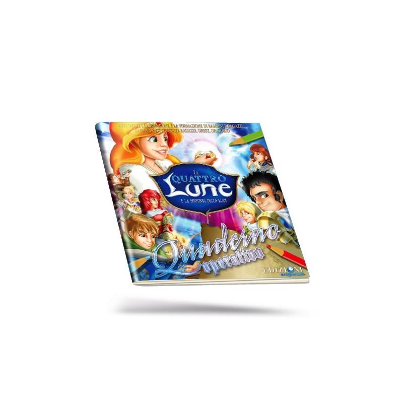 """Quaderno Operativo Elementari """"Le Quattro Lune"""""""