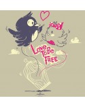 "Maglietta ""Love To Be Free"""