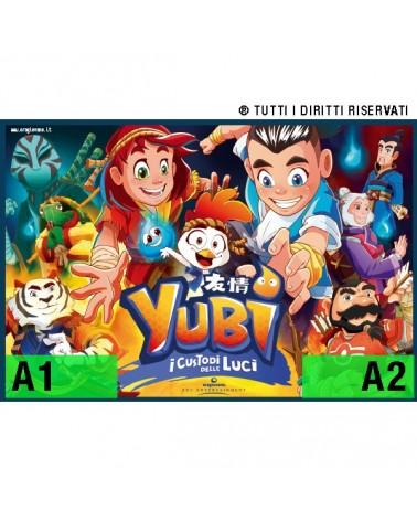 "Poster ""Yubi - i Custodi delle Luci"" - v1"