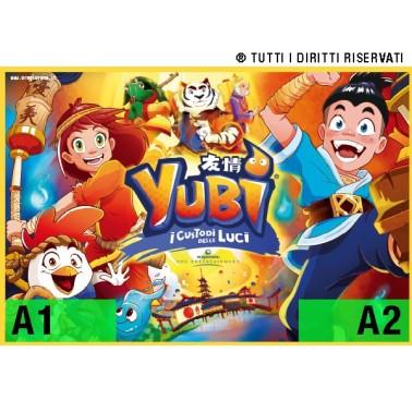 "Poster ""Yubi - i Custodi delle Luci"" - v2"