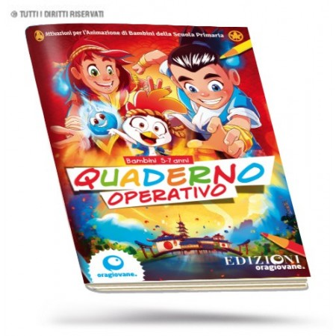 "Quaderno Operativo Elementari sussidio estivo ""YUBI"""