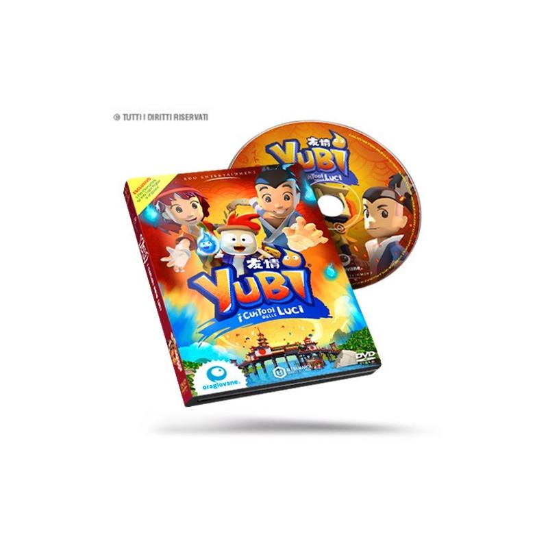 """DVD Cartone Animato """"Yubi - i Custodi delle Luci"""""""
